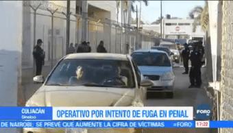 Impiden Fuga Penal Aguaruto Sinaloa