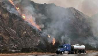 México ofrece apoyo a connacionales afectados por incendios en California