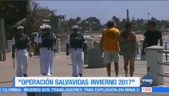 Inicio Operativo Salvavidas Invierno 2017 Secretaría De Marina