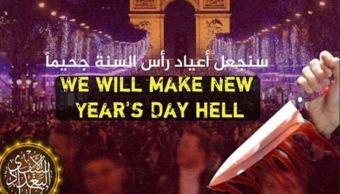 Estado Islámico amenaza a París con convertirla en 'un infierno'
