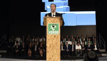 PVEM respalda precandidatura José Antonio Meade