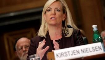 Confirman Kirstjen Nielsen como secretaria Seguridad Nacional Estados Unidos