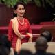 La líder birmana Aung San Suu Kyi