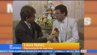#LoEspectaculardeME: Laura Núñez, representante de José José, informa sobre su salud