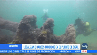 Localizan Barcos Hundidos 200 Años Yucatán