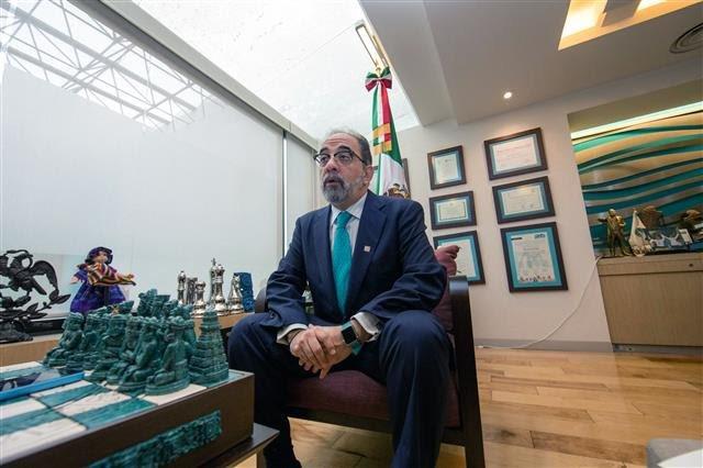 Luis Castro líder del Partido Nueva Alianza