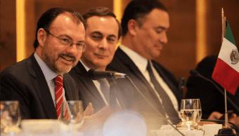 Videgaray dialoga con integrantes del Consejo Coordinador Empresarial