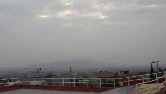Mala calidad del aire predomina al norte del Valle de México