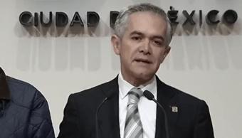 Mancera descarta competir por candidatura presidencial