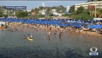 Maratón Nado Acapulco Miles Nadadores Participaron