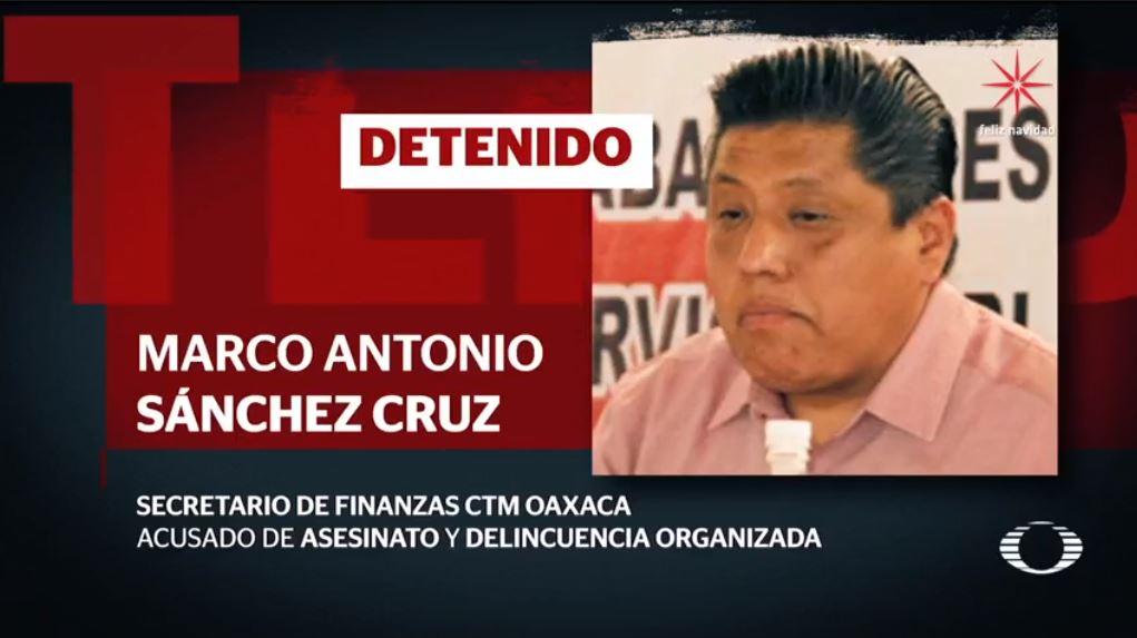 Vinculan a líder de la CTM de Oaxaca con presunto grupo ...