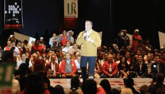 Meade se reúne con la militancia del PRI en Puebla