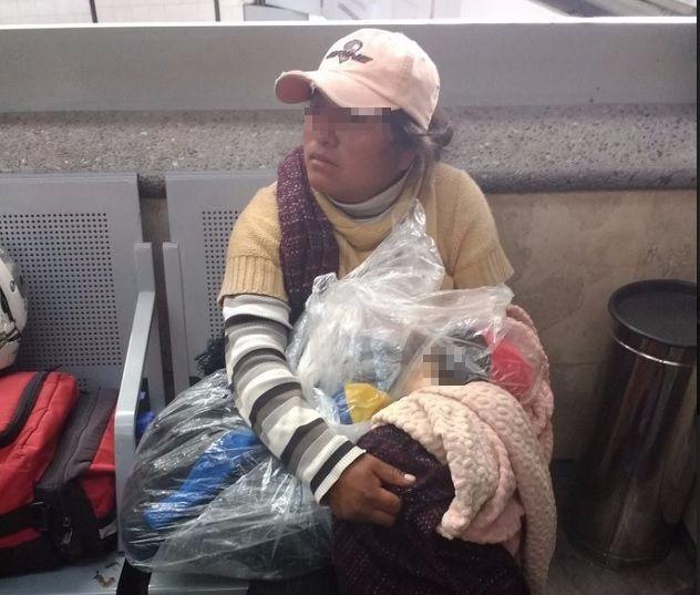 Mujer es descubierta con el cadáver de su hijo en terminal TAPO