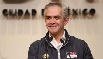El jefe de Gobierno de la CDMX, Miguel Ángel Mancera, dice que la portación de arma de fuego debe considerarse un delito grave