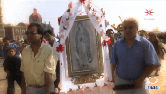 Miles Peregrinos Llegan Basílica Guadalupe