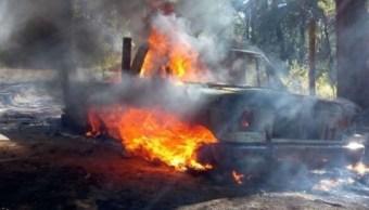 explotan camionetas combustible robado huitzilac morelos