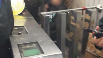 Mujer que pidió ayuda en Metro Pino Suárez nunca fue secuestrada