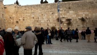 Israel nombrará Trump a estación de tren en Muro de los Lamentos