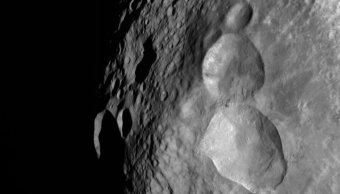 NASA difunde imagen de muñeco de nieve espacial