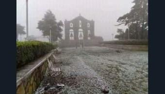 nevada sorprende pobladores sierra hidalgo