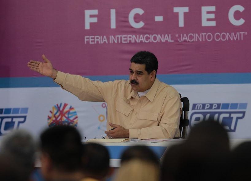 Gobierno Venezolano anunció la creación de una criptomoneda venezolana Nicolas-maduro