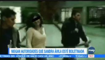Niegan Reina Pacífico Boletinada Delincuente Autoridades Mexicanas