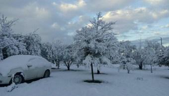 preven nevadas aguanieve y frio intenso norte y noroeste mexico