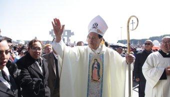 Norberto Rivera encabeza Misa de Bendición de las Rosas en la Basílica