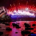Australia recibe al Año Nuevo 2018