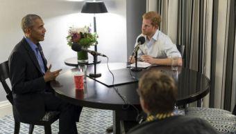 Príncipe Harry entrevista a Barack Obama para un programa de radio