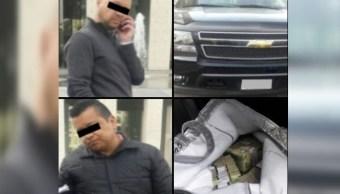 Detienen a dos hombres con 5 millones de pesos en la CDMX