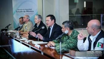 Osorio Chong y Alfredo Del Mazo evalúan acciones de seguridad para Edomex