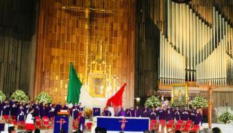 trabajadores televisa realizan su peregrinacion anual basilica guadalupe