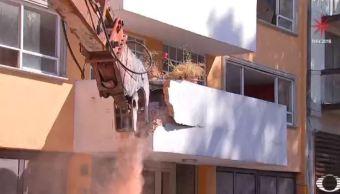Peritajes retrasan demolición del edificio en Escocia 10