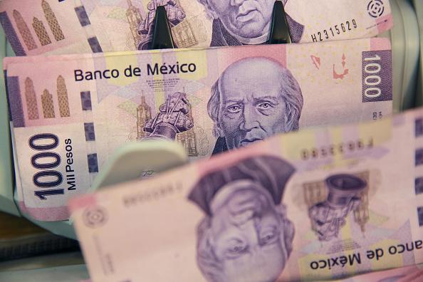 El peso mexicano pierde por tercera sesión consecutiva