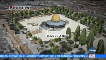 Política Eu Jerusalén Retroceder Paz Medio Oriente