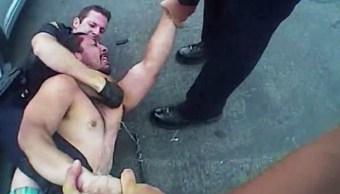 Policía, Asfixia, Taser, Muerte, Anaheim, Arresto Video