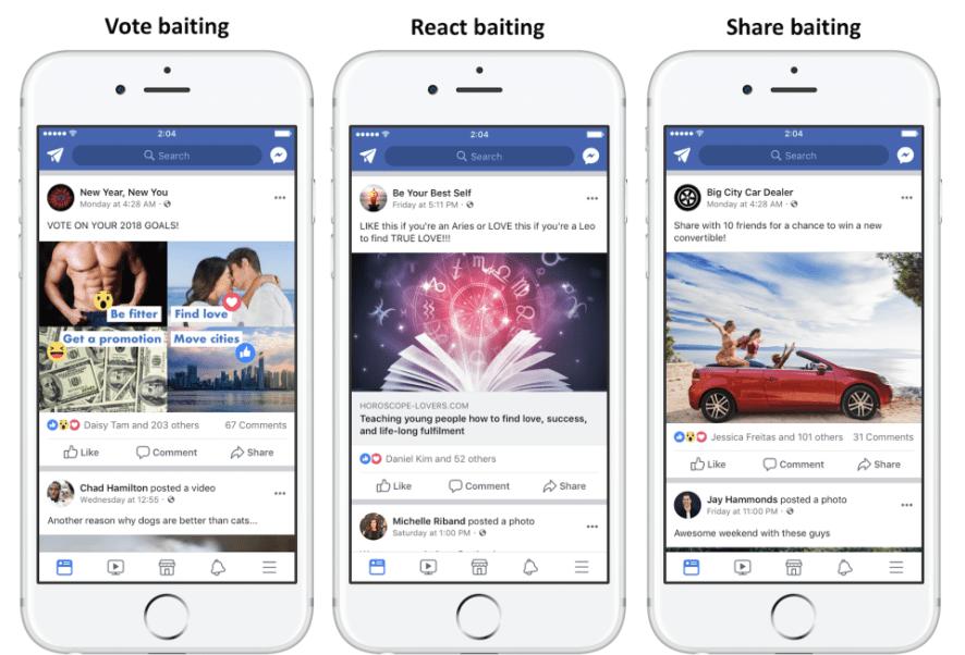 Redes Sociales, Clickbait, Facebook, Algoritmo, Likes, Shares