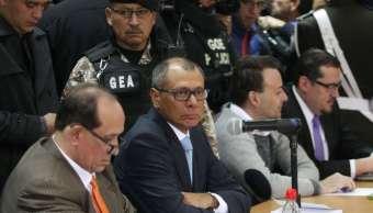 Condenan seis anos presión vicepresidente Ecuador caso Odebrecht