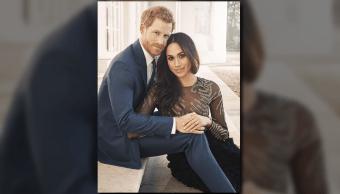 Príncipe Enrique y Meghan Markle lanzan fotografías