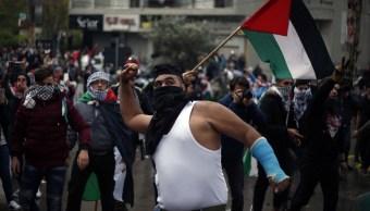 Estallan protestas cerca de embajada de EU en Beirut