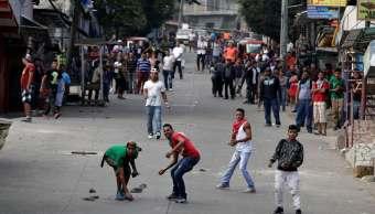 Opositores toman calles defender triunfo electoral Honduras