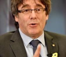 Carles Puigdemont, expresidente de Cataluna