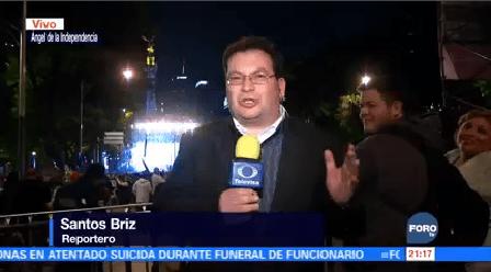 Reportan Gran Ambiente Familiar Durante Concierto Fin Año Ángel Independencia