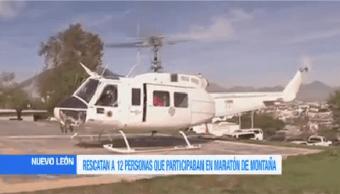 Rescatan 12 Maratonistas Nuevo León Elementos Protección Civil Rescataron