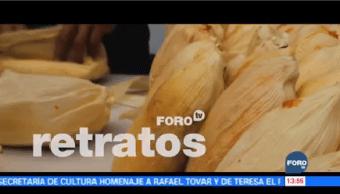 Retratos Tamales Orgullo Gastronomía Mexicana