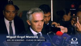 Reunión Mancera Anaya Jefe De Gobierno Ciudad De México