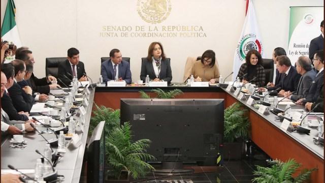 Gobernadores y legisladores discuten minuta de la Ley de Seguridad Interior