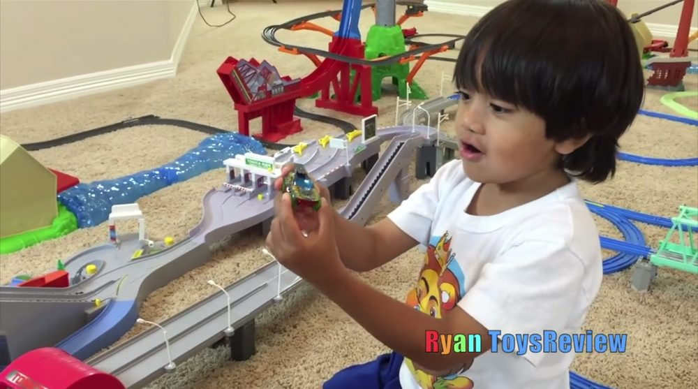 Ryan, anfitrión del canal de YouTube Ryan Toys Review