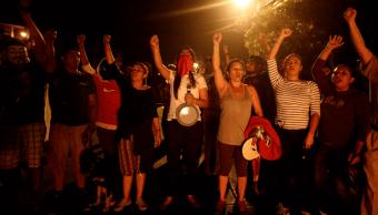 Seguidores de Salvador Nasralla protestan contra presunto fraude